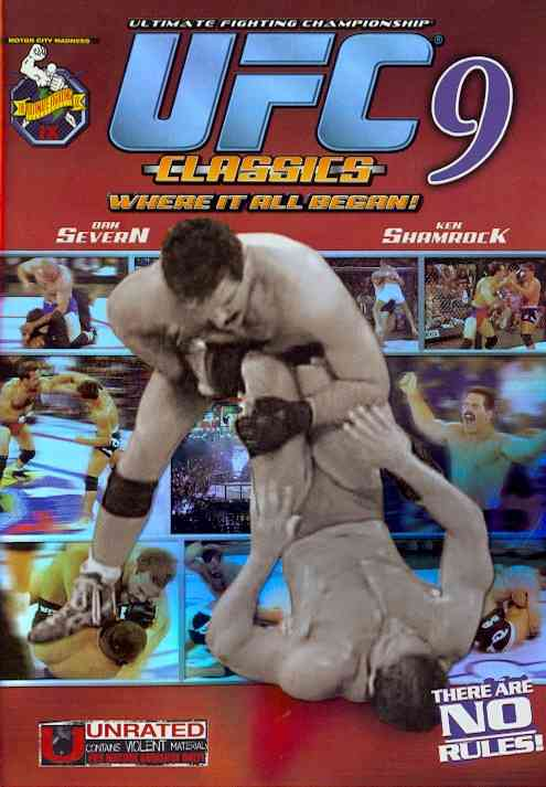 UFC 9:MOTOR CITY MADNESS BY SEVERN,DAN (DVD)